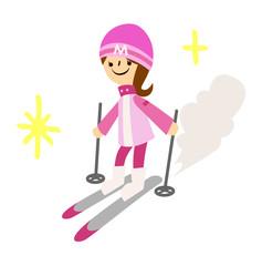 冬-スキー