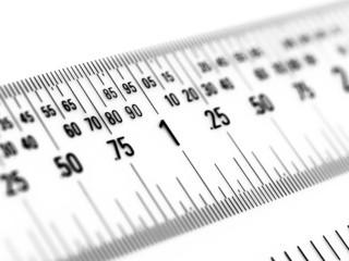 Ruler in Decimal Inches