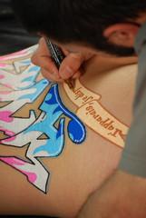 Body Writing 03
