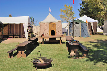Renaissance Fair Historical Encampment