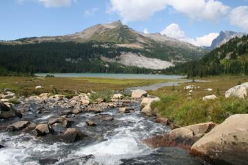 Lower Lyman Lake - Glacier Peak Wilderness  -  WA