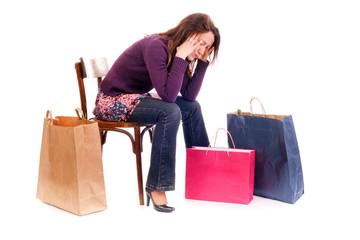 upset shopping