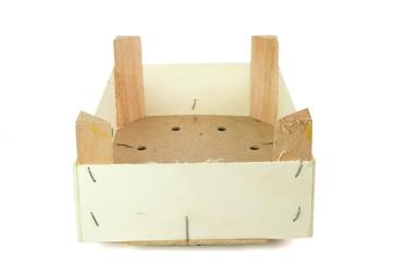 Cassetta legno prospettiva