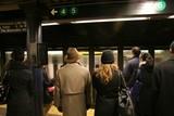 Aşteptare pentru metrou