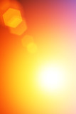 Abstract flare background poster