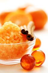 tangerine bath
