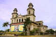 Leinwanddruck Bild - Old Cathedral Managua