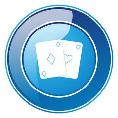 Kartenspiel - Button
