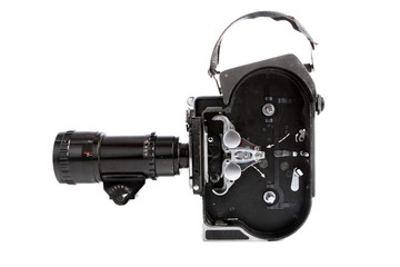 16mm movie camera