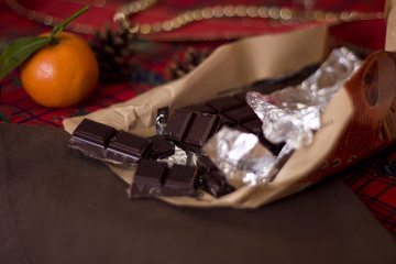 Tablette de chocolat
