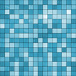 Large seamless blue tiles background, ready for texturing