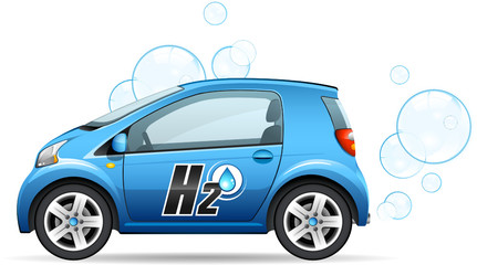 Voiture fonctionnant à l'hydrogène