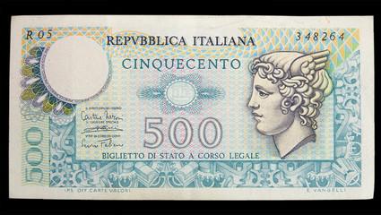 500 lire B