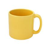 Yellow mug emty blank cutout poster