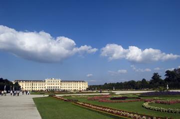 Wien Schönbrunn Panorama