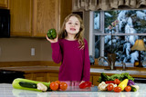 healthy child nutrition poster