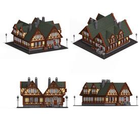 Block of Medieval Houses