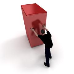 Homme presente cube