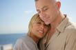 Portrait de couple en vacances