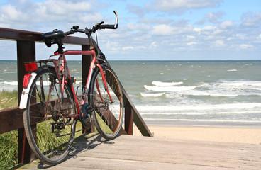 Sportsbike at the Beach