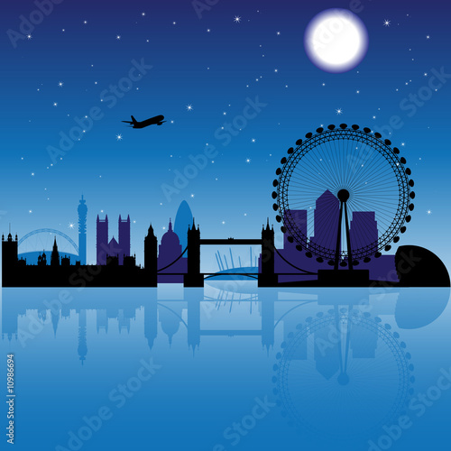 City Skyline · By: OCAL 7.3/10 91 votes. London skyline silhouette at night