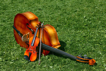 The two musical instruments