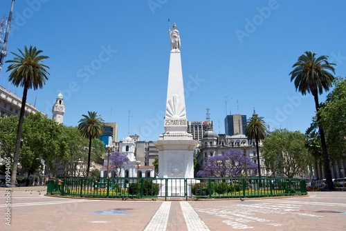 Zdjęcia na płótnie, fototapety, obrazy : Pirámide de Mayo, Buenos Aires