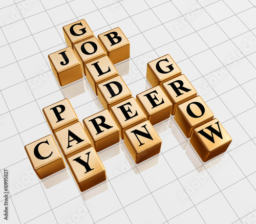 golden crossword - job, career, grow, pay