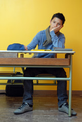 élève fatigué