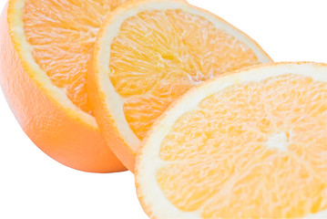 Orange Segments (Isolated)