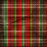 Ancient  red-green plaid poster