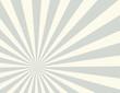 Sunburst retro vector