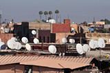 Medina in Marrakech, Morocco poster