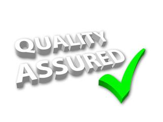 Quality Assured 3D Logo