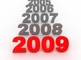 years row