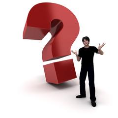 Homme presente interrogation 2