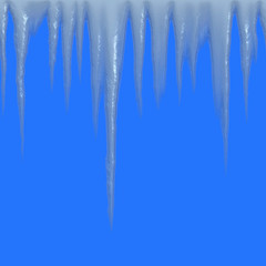 Seamless Icicles