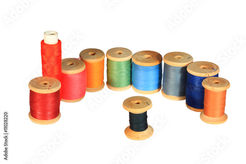 thread on the spool
