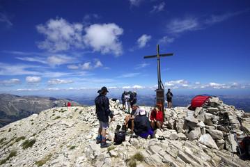 Parco dei Monti Sibillini: la Cima del M. Vettore (2476 mt ]