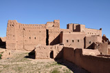 Kasbah of Taourirt in Ouarzazate, Morocco poster