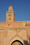Koutoubia Mosque in Marrakech, Morocco poster