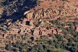 Small Berber village in Atlas mountains, Morocco poster