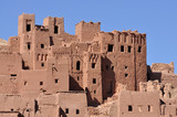The Kasbah of Ait Benhaddou, Morocco poster
