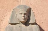 Sphinx statue in Ouarzazate, Morocco poster