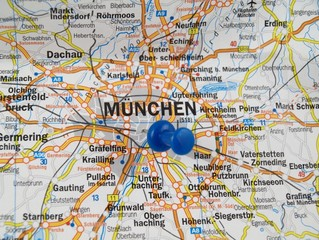 Munich of map
