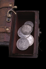 silver coins of 16-18th centuries