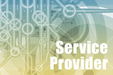 Service Provider Abstract poster
