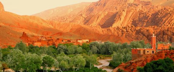 Kasbah in Marokko