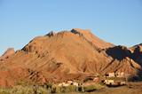 Village in Atlas mountains, Morocco poster