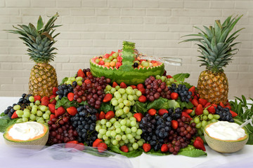 Display of Fruits